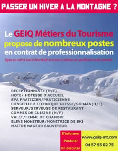 Affiche recrutement 2017-2018 GEIQ