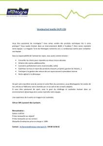 Vendeuse textile TDM