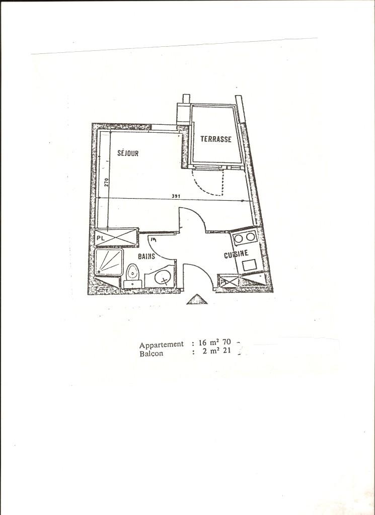 plan appartement Ménuires
